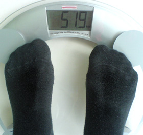 pierdere în greutate goală corp slim korar în sus